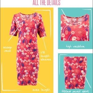 LuLaRoe Dresses - **UNICORN** LuLaRoe Julia